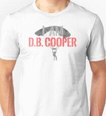 I Am DB Cooper - White Dirty T-Shirt