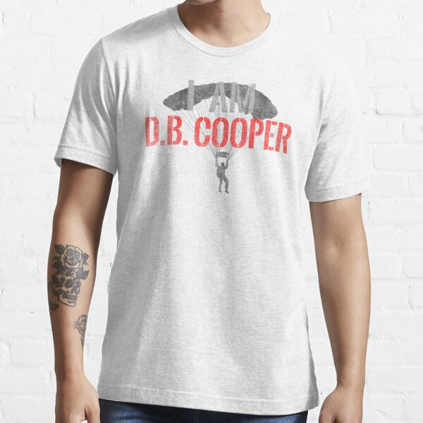 I Am DB Cooper - White Dirty Essential T-Shirt