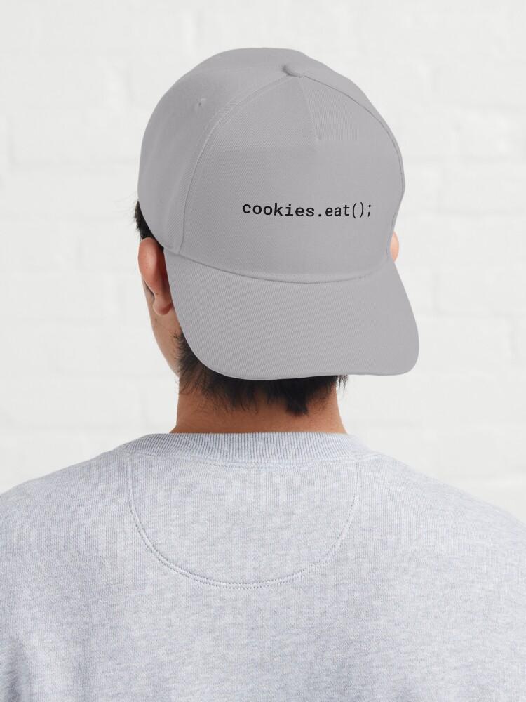 Alternate view of JavaScript - Eat Cookies (Inverted) Cap