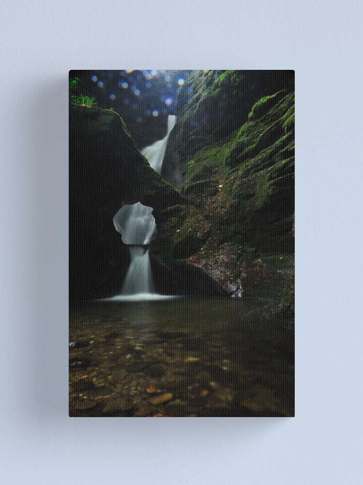 Alternate view of Nectans Glen Waterfall Canvas Print