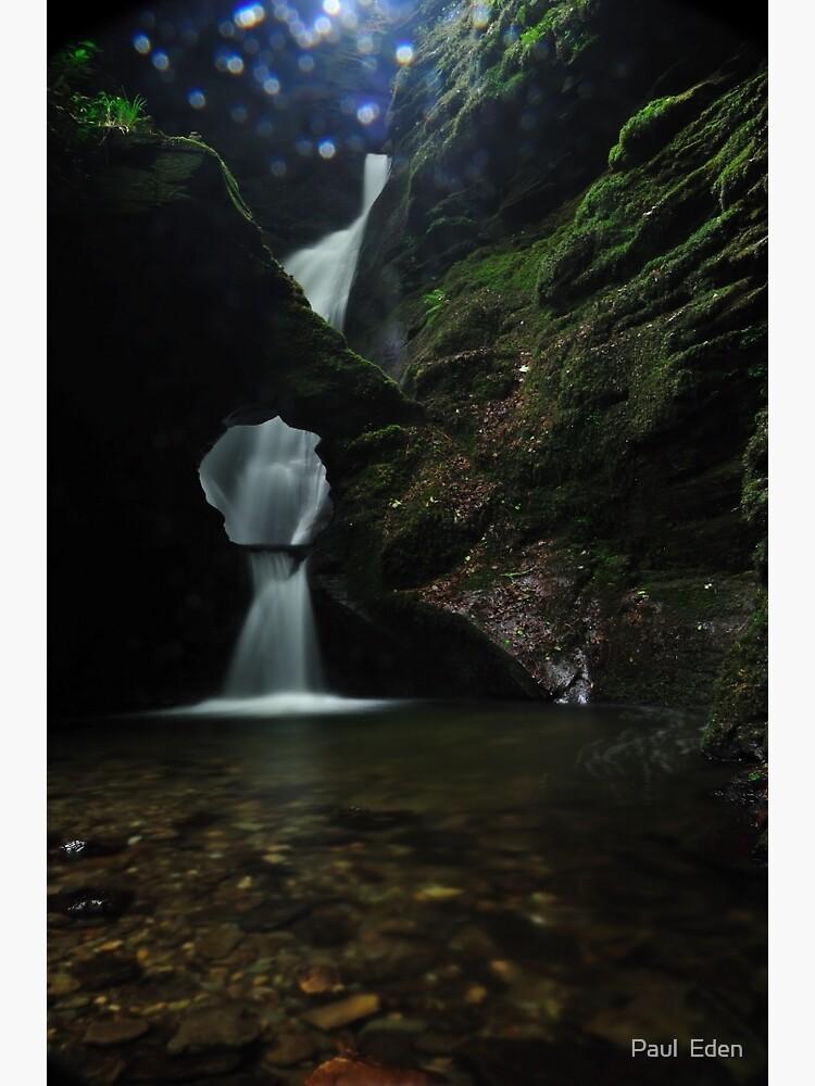 Nectans Glen Waterfall by pauleden