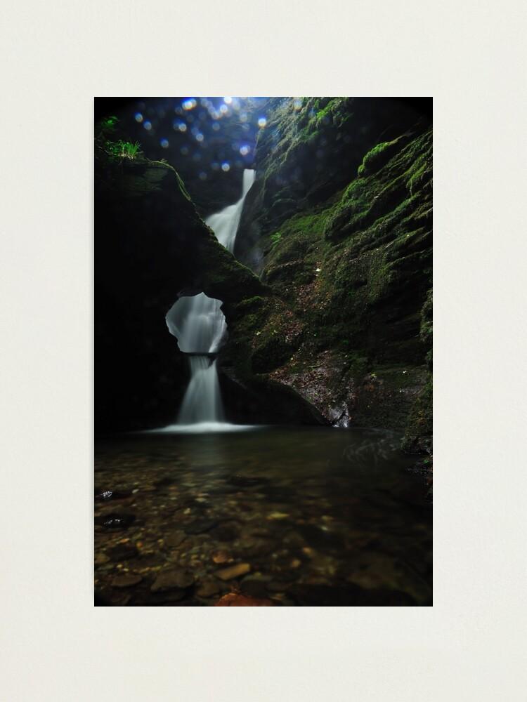 Alternate view of Nectans Glen Waterfall Photographic Print