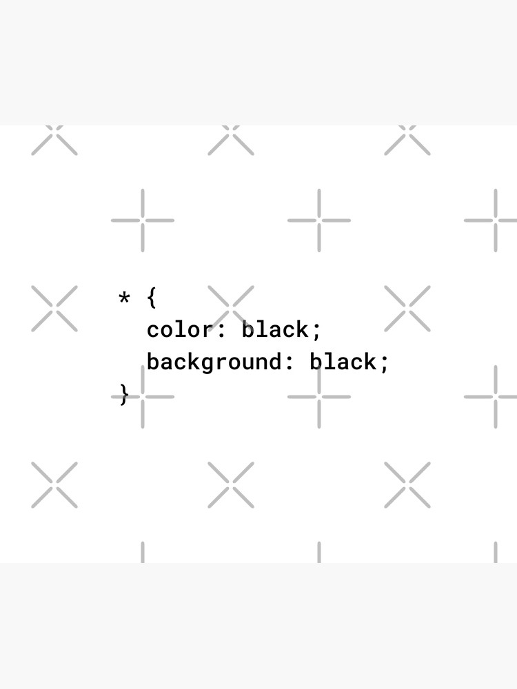 CSS - Everything Black (Inverted) by developer-gifts