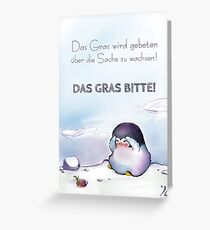 SO Sorry - Pinguin Greeting Card