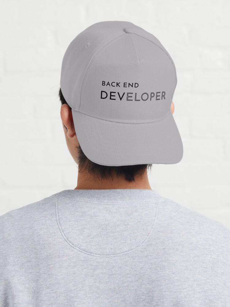 Alternate view of Back End Developer (Inverted) Cap