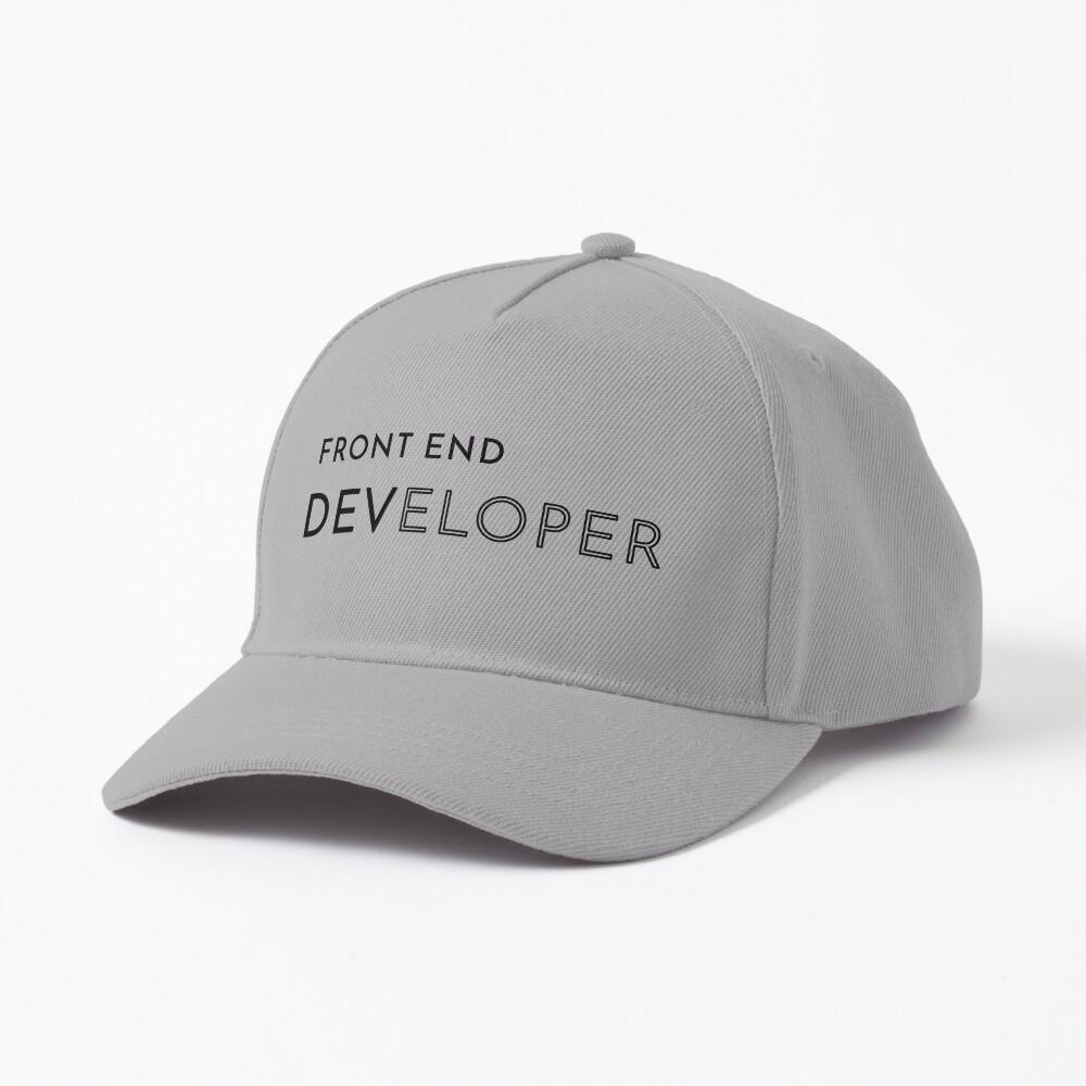 Front End Developer (Inverted) Cap