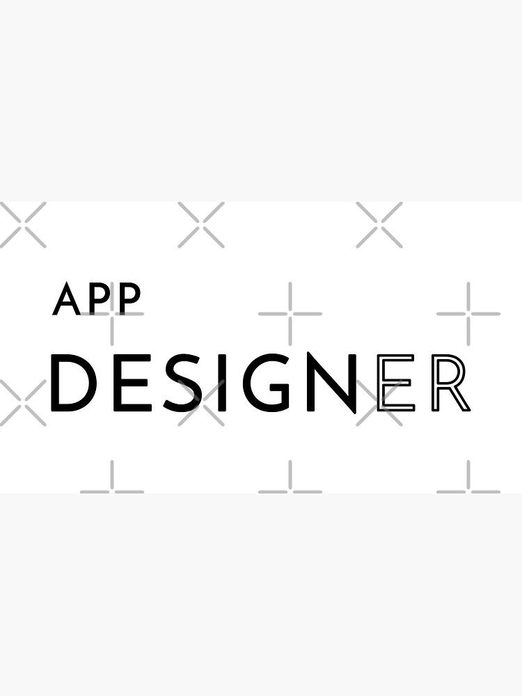 App Designer (Inverted) by developer-gifts