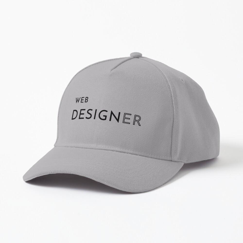 Web Designer (Inverted) Cap