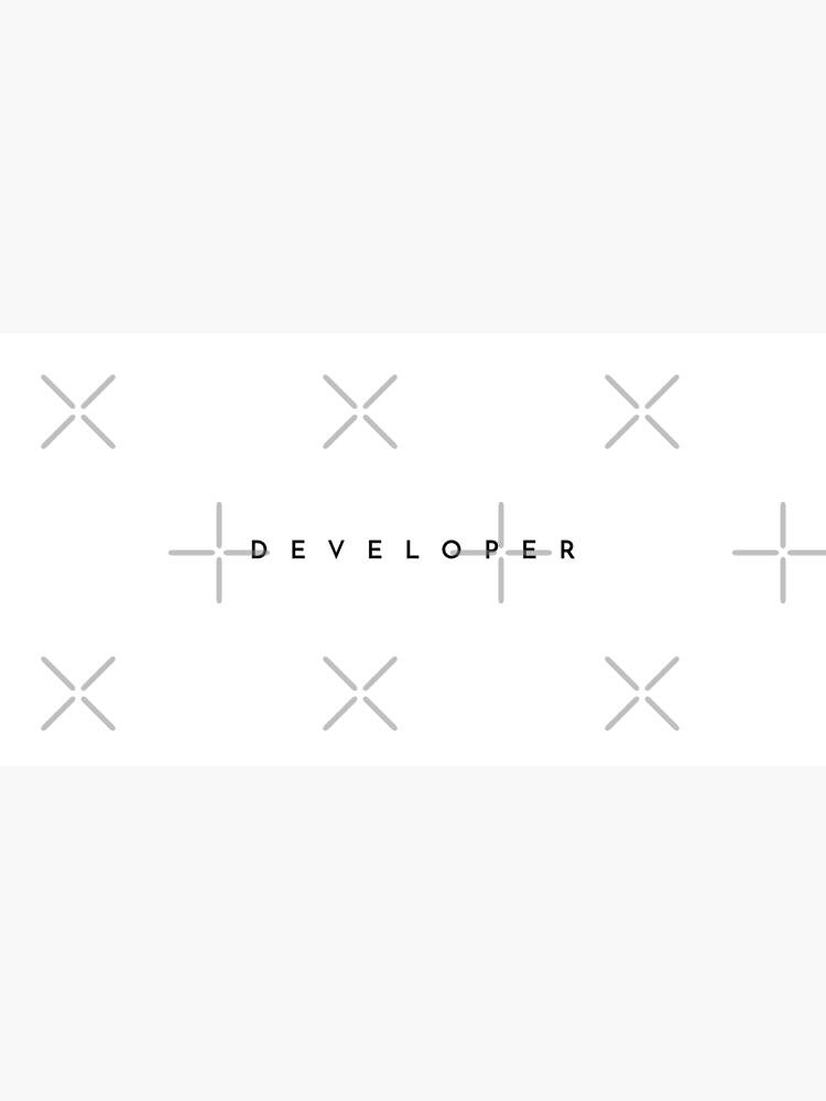 Developer (minimal) (Inverted) by developer-gifts
