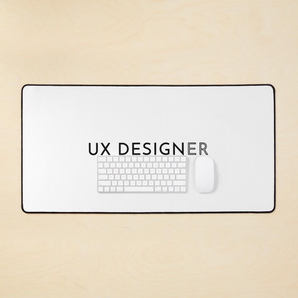 UX Designer (Inverted) Mouse Pad