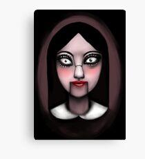 Creepy Doll Canvas Print