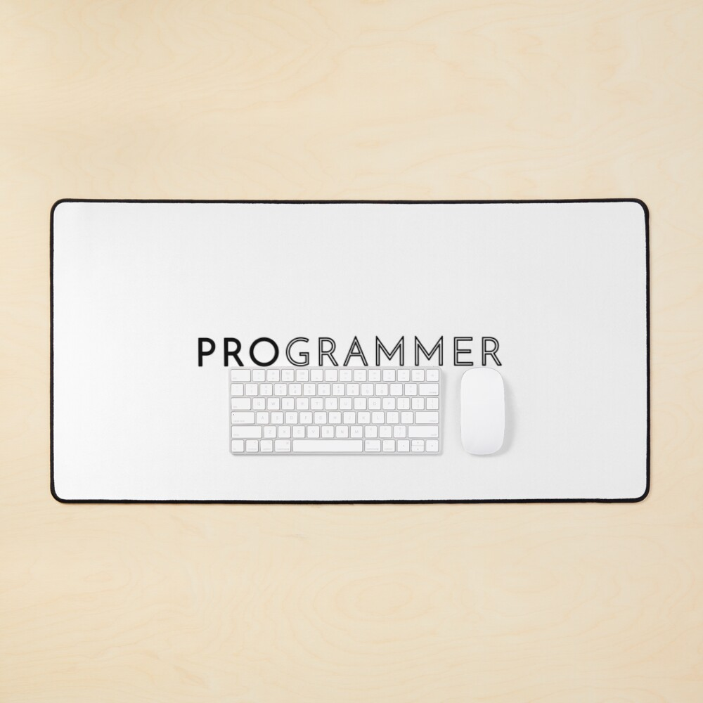 Programmer (Inverted) Mouse Pad