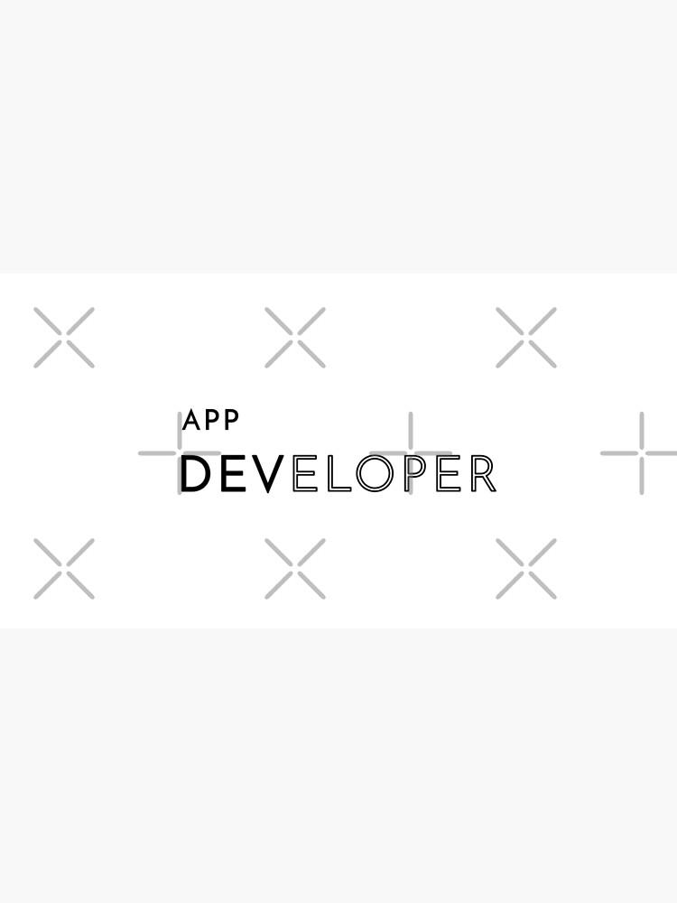 App Developer (Inverted) by developer-gifts