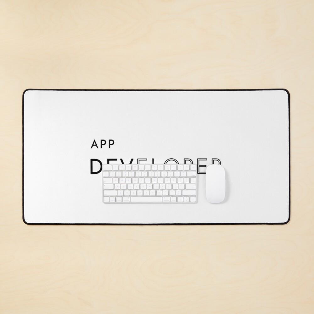 App Developer (Inverted) Mouse Pad