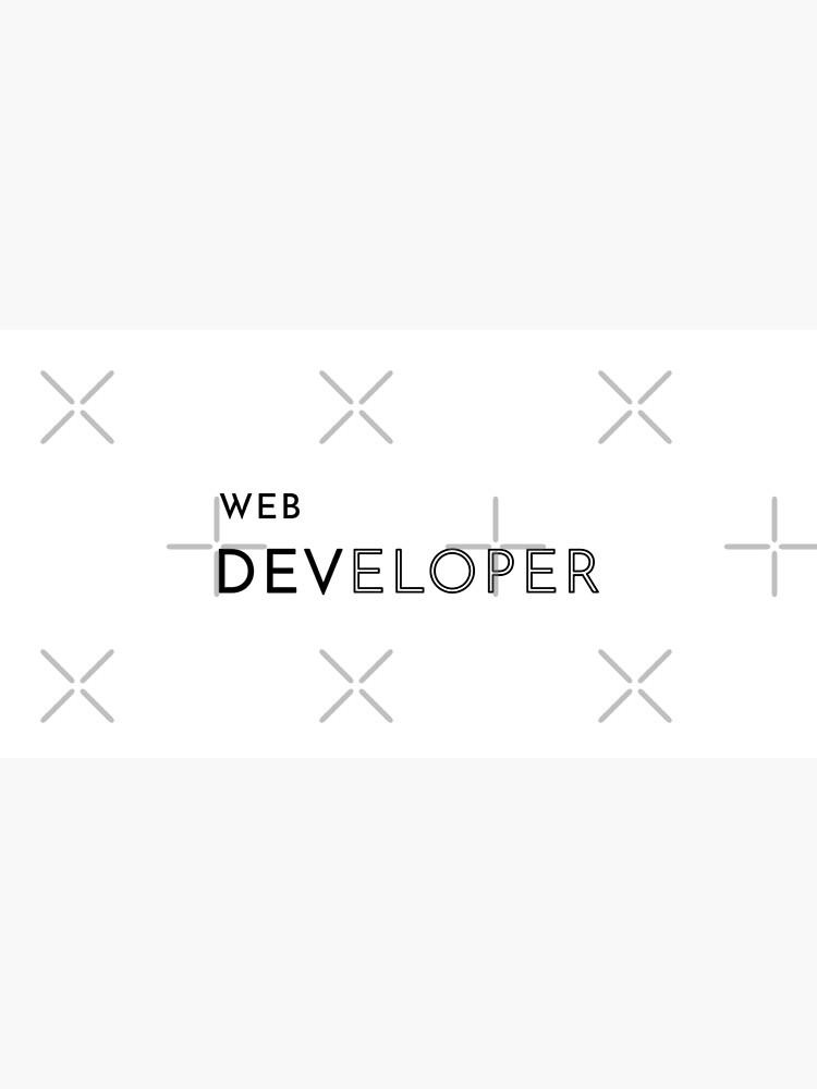 Web Developer (Inverted) by developer-gifts