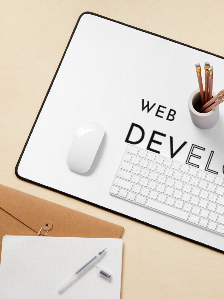 Alternate view of Web Developer (Inverted) Mouse Pad