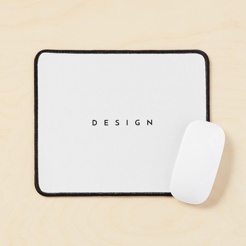 Design (minimal) (Inverted) Mouse Pad