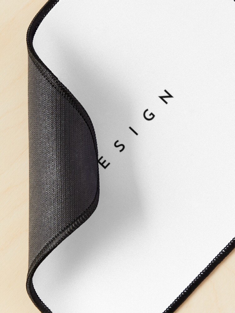Alternate view of Design (minimal) (Inverted) Mouse Pad