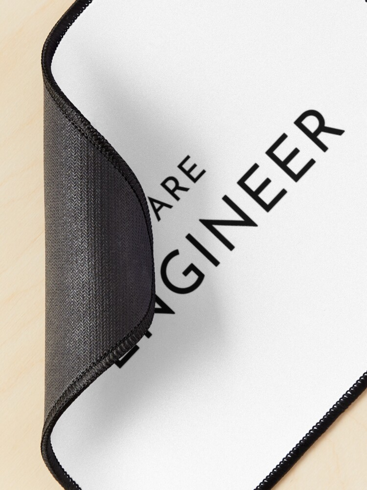 Alternate view of Software Engineer (Inverted) Mouse Pad
