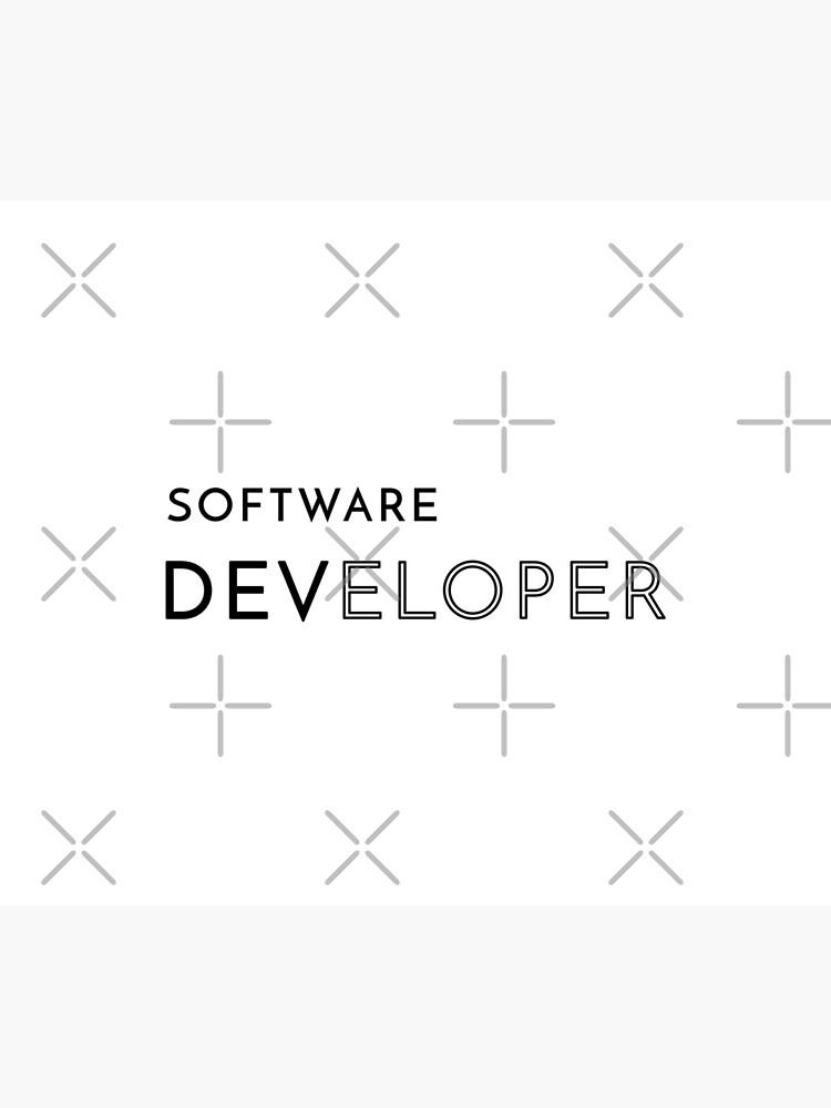 Software Developer (Inverted) by developer-gifts