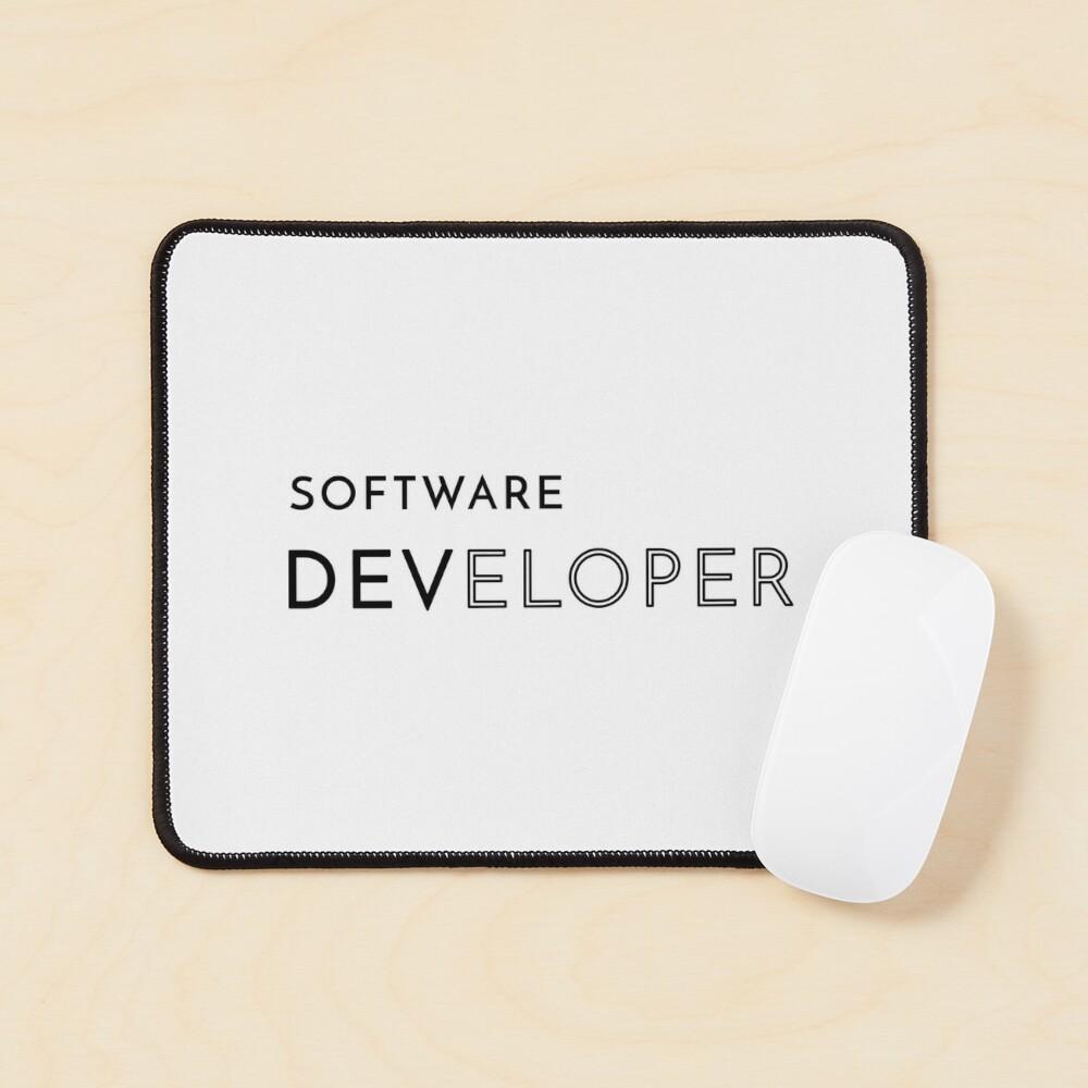 Software Developer (Inverted) Mouse Pad