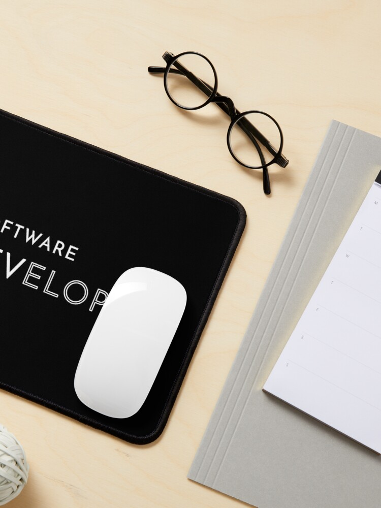 Alternate view of Software Developer Mouse Pad