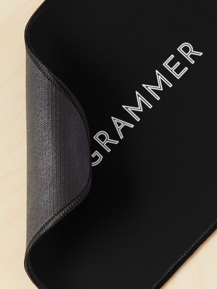 Alternate view of Programmer Mouse Pad