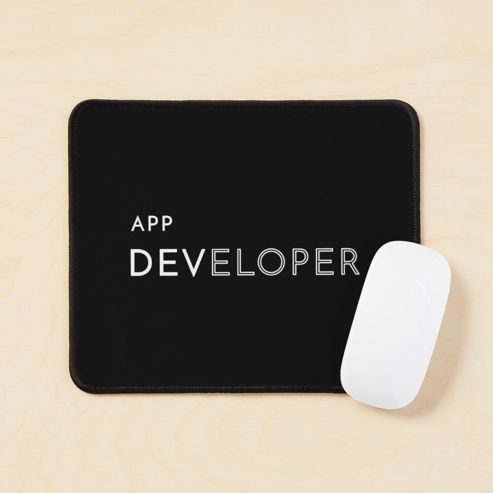 App Developer Mouse Pad