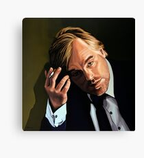 Philip Seymour Hoffman Painting Canvas Print