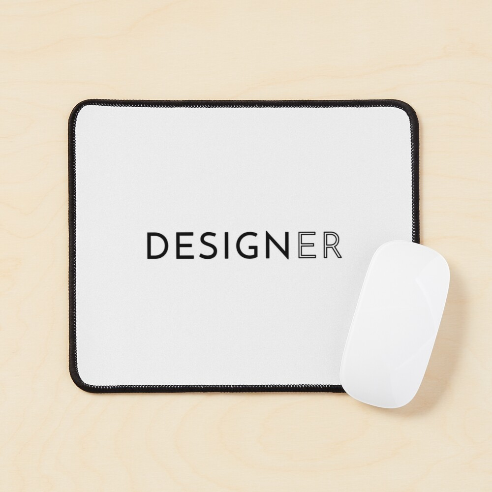 Designer (Inverted) Mouse Pad