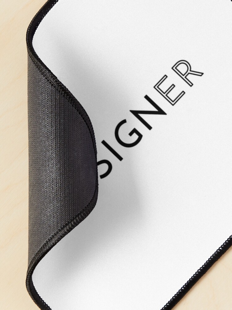 Alternate view of Designer (Inverted) Mouse Pad