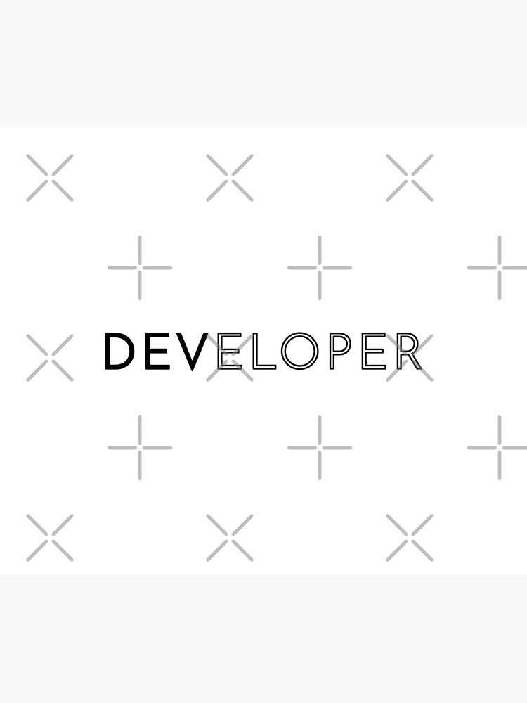 Developer (Inverted) by developer-gifts