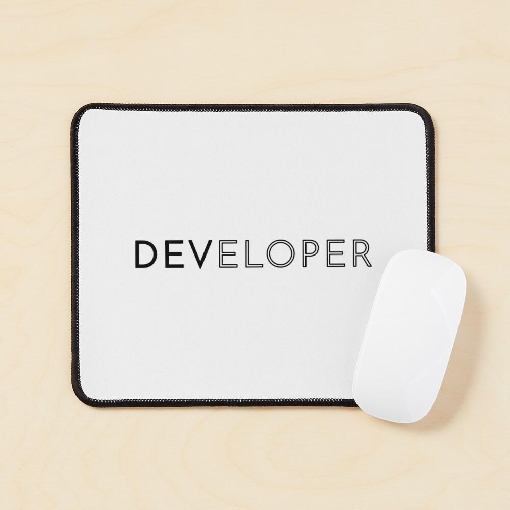 Developer (Inverted) Mouse Pad