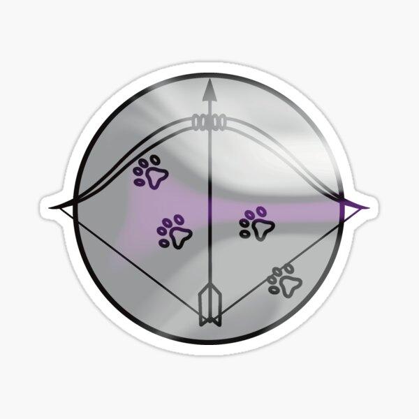 Demisexual Ranger Symbol Sticker