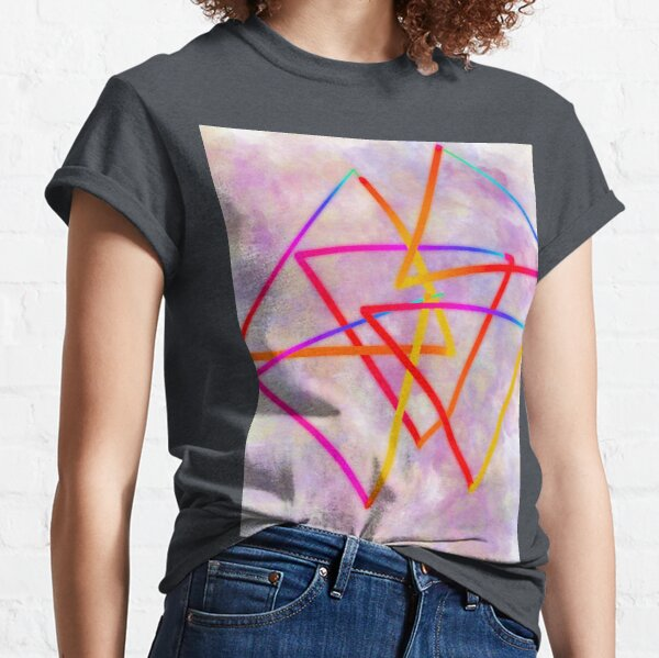 Triangles in the clouds  Classic T-Shirt