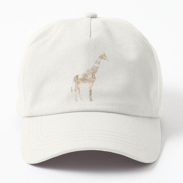 Gold Glitter Giraffe Dad Hat