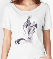 Inky Queen of the Orient Women's Relaxed Fit T-Shirt