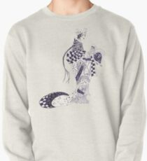 Inky Queen of the Orient Pullover Sweatshirt