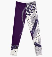 Inky Queen of the Orient Leggings