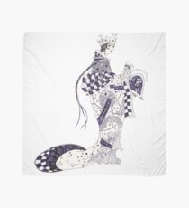 Inky Queen of the Orient Scarf