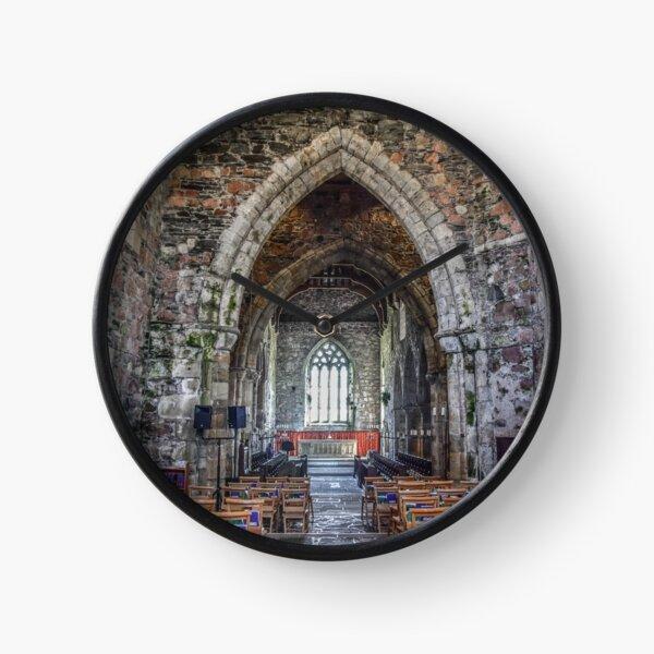 Iona Abbey, Scotland Clock