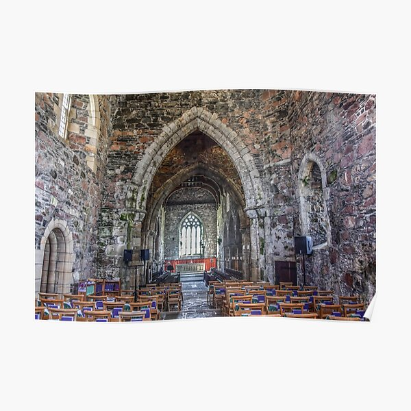 Iona Abbey, Scotland Poster