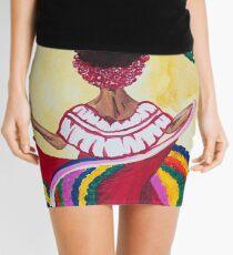 Street Dance Mini Skirt