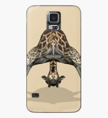 Childish Giraffe Case/Skin for Samsung Galaxy