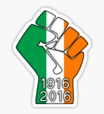 Ireland 1916 Power Fist Sticker