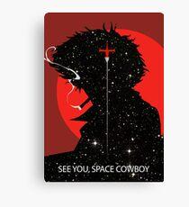 "Cowboy Bebop ""See you Space Cowboy"" (Spike Spiegel) Canvas Print"