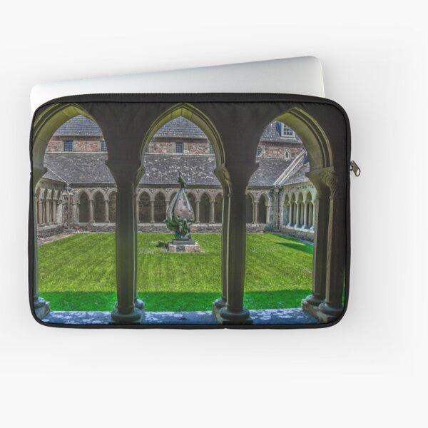 The Cloisters, Iona, Scotland Laptop Sleeve