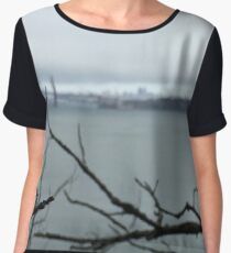 Empty Thoughts Chiffon Top