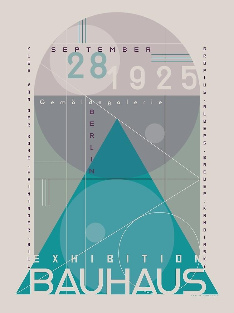 Bauhaus Exhibition Poster VIII by BLTV