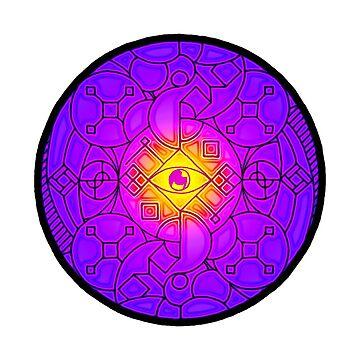 Cosmic Eye by Lewis-Morris
